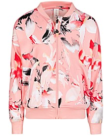 Toddler Girls Print Bomber Jacket, Created for Macy's