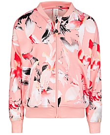 Ideology Toddler Girls Print Bomber Jacket, Created for Macy's