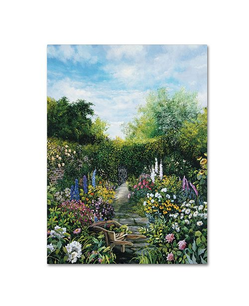 "Trademark Global Susan Rios 'Spring Planting' Canvas Art - 19"" x 14"" x 2"""