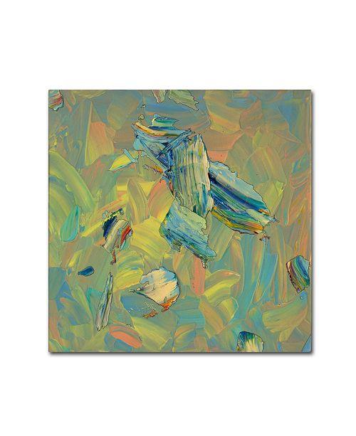 "Trademark Global James W. Johnson 'Paint number 61' Canvas Art - 14"" x 14"" x 2"""