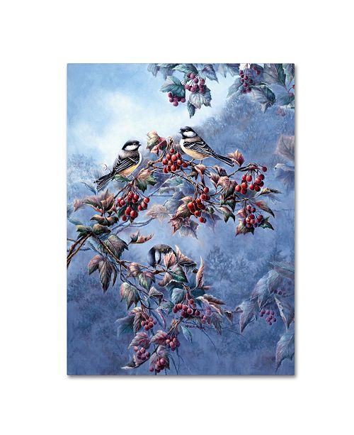 "Trademark Global Wanda Mumm 'Jewels Of Autumn' Canvas Art - 47"" x 35"" x 2"""