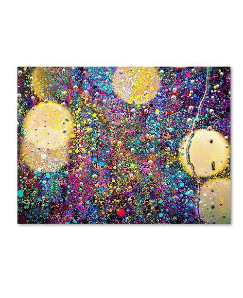 "Trademark Global MusicDreamerArt 'Party In The Rain' Canvas Art - 24"" x 18"" x 2"""