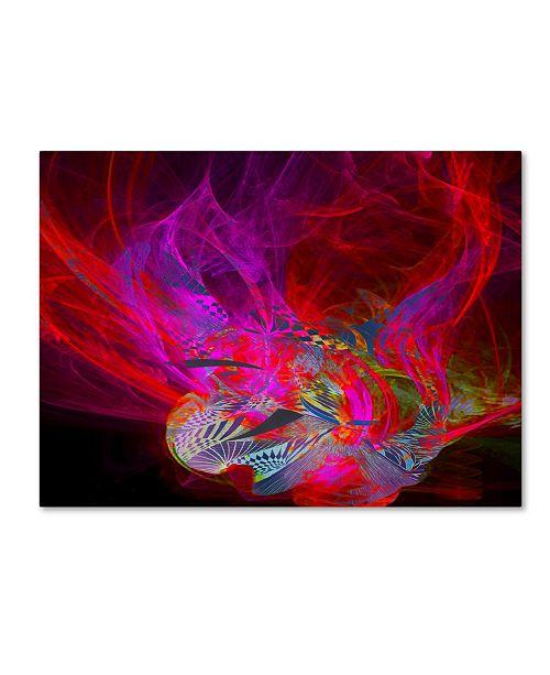 """Trademark Global MusicDreamerArt 'Dragonfire' Canvas Art - 47"""" x 35"""" x 2"""""""