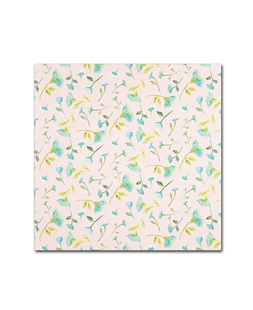 "Trademark Global Yachal Design 'Pink Blossoms 900' Canvas Art - 35"" x 35"" x 2"""
