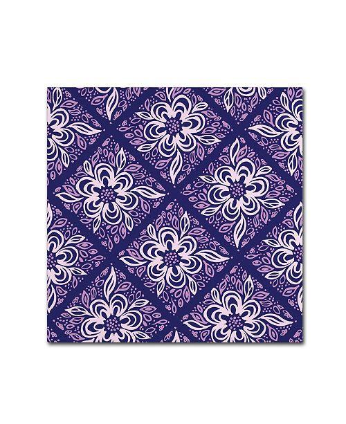 "Trademark Global Yachal Design 'Dancing Petals 200b' Canvas Art - 35"" x 35"" x 2"""