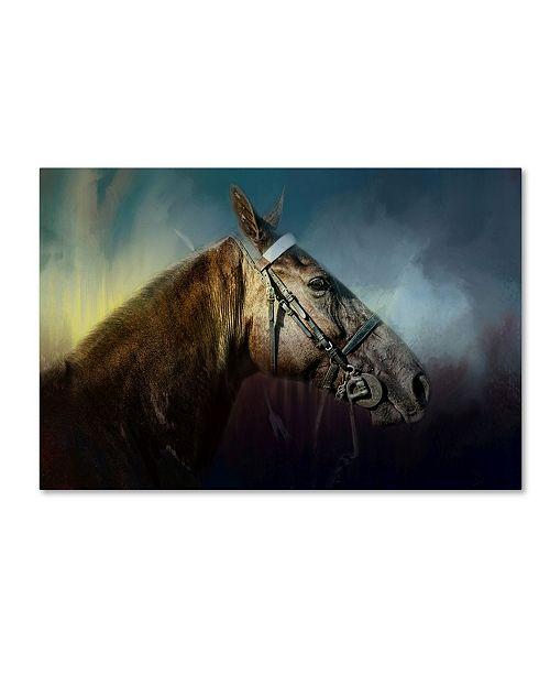 "Trademark Global Jai Johnson 'Waiting At Ringside' Canvas Art - 47"" x 30"" x 2"""