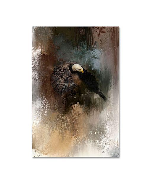 "Trademark Global Jai Johnson 'Winter Eagle 2' Canvas Art - 47"" x 30"" x 2"""