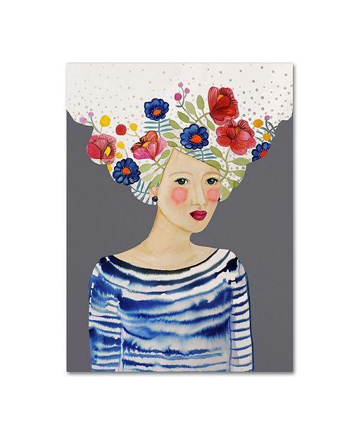 "Trademark Global Sylvie Demers 'Ariane' Canvas Art - 47"" x 35"" x 2"""