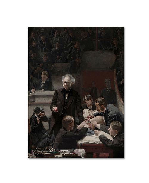 "Trademark Global Thomas Eakins 'Portrait Of Dr Samuel Gross' Canvas Art - 19"" x 14"" x 2"""