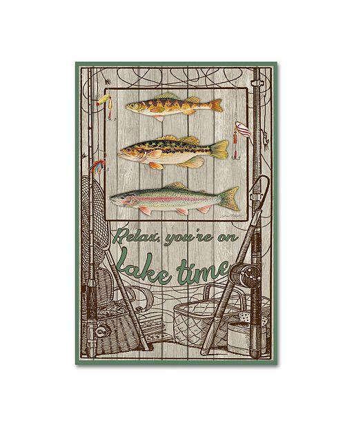 "Trademark Global Jean Plout 'Wilderness Lodge 21' Canvas Art - 24"" x 16"" x 2"""