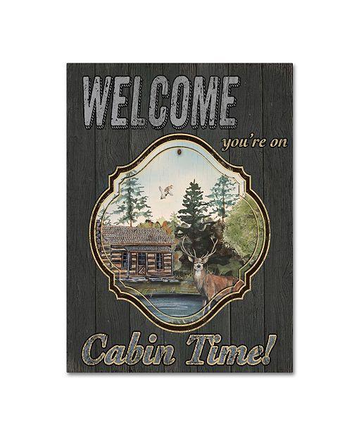 "Trademark Global Jean Plout 'Wilderness Lodge 27' Canvas Art - 47"" x 35"" x 2"""