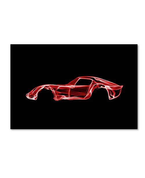 "Trademark Innovations Octavian Mielu 'Ferrari 250 GTO' Canvas Art - 47"" x 30"" x 2"""