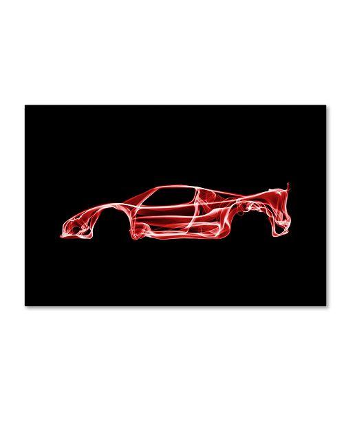 "Trademark Innovations Octavian Mielu 'Ferrari F50' Canvas Art - 24"" x 16"" x 2"""