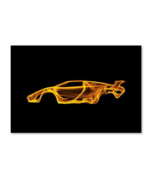 "Trademark Innovations Octavian Mielu 'Lamborghini Countach' Canvas Art - 47"" x 30"" x 2"""