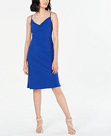 19 Cooper Cowlneck Slip Dress