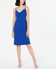 19 Cooper Cowlneck Slip Dress