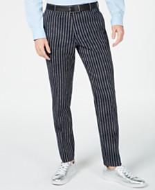 I.N.C. Men's Slim Stripe Pants, Created for Macy's