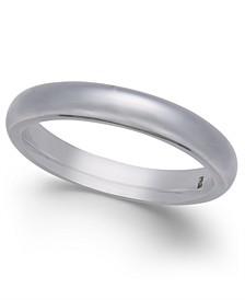 Men's Dome Cobalt Ring