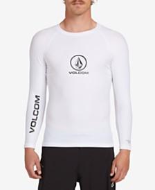 Volcom Men's Lido Solid Long Sleeve Rashguard