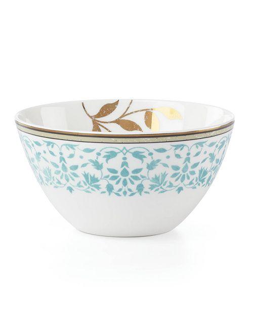 Lenox Global Tapestry Aquamarine All Purpose Bowl
