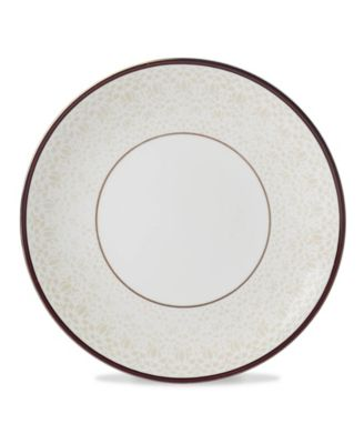 Global Tapestry Garnet Dinner Plate Garnet Mandala