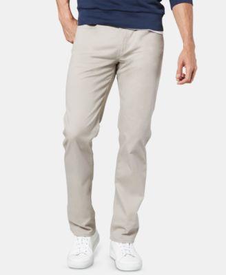 Men's Jean Cut Straight-Fit All Seasons Tech Khaki Pants