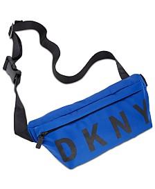 DKNY Nylon Logo Belt Bag