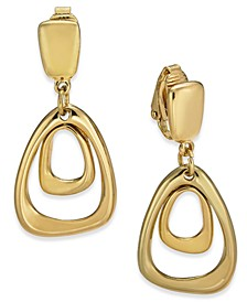 Organic Orbital Drop Clip-On Earrings, Created for Macy's