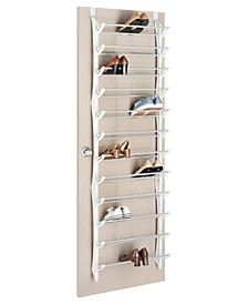 Over The Door 36-Pair Shoe Rack