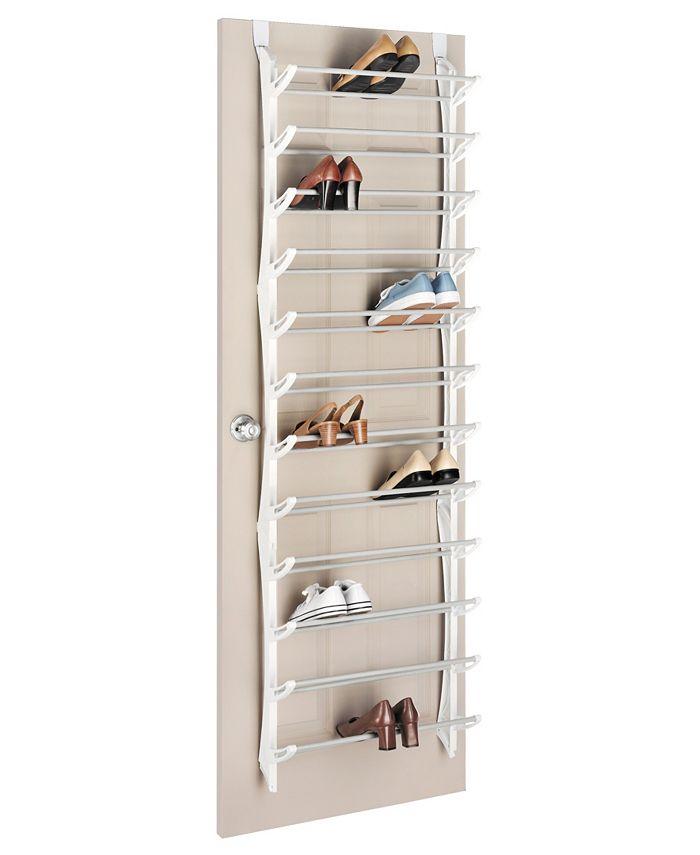 Whitmor - Over The Door 36-Pair Shoe Rack