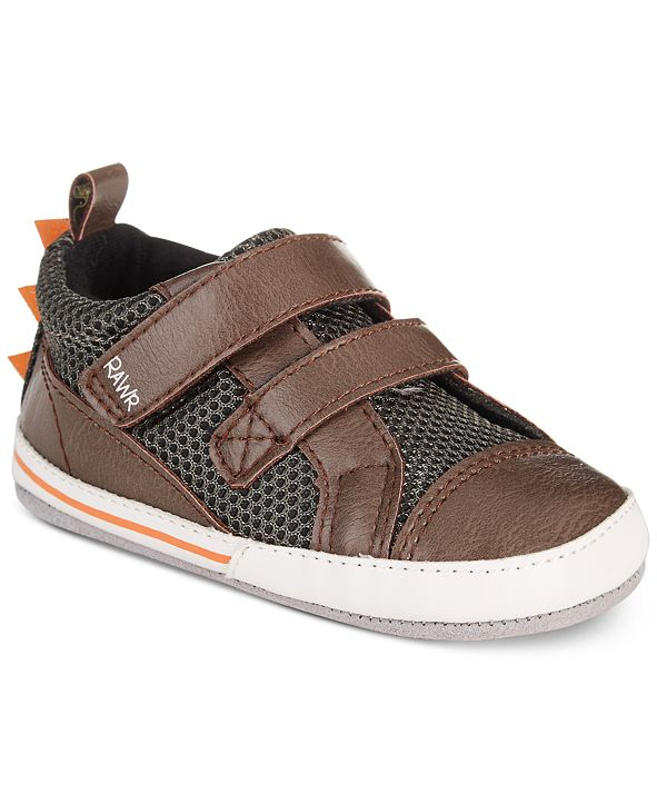 Robeez ro + me by Baby Boys Dinosaur Casual Shoes