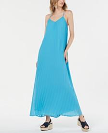 Bar III Pleated Maxi Dress, Created for Macy's