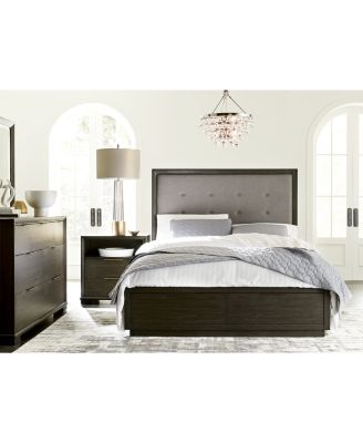 Morgan Storage Bedroom Furniture 3-Pc. Set (Queen Bed, Nightstand & Chest), Created for Macy's