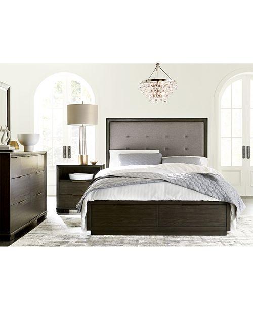 Morgan Storage Bedroom Furniture, 3-Pc. Set (Queen Bed, Nightstand &  Dresser), Created for Macy\'s