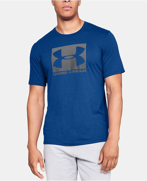 Under Armour Men's Boxed Sportstyle Short Sleeve T-Shirt