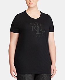 Plus Size Slim-Fit Jersey T-Shirt