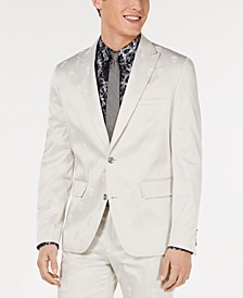 INC Men's Skull Jacquard Slim-Fit Blazer, Created for Macy's