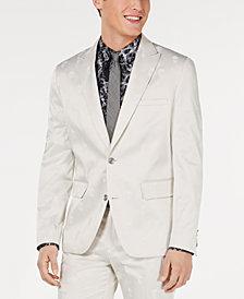 INC Men's Skull Jacquard Slim-Fit Blazer, Created for Macy's