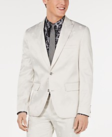I.N.C. Men's Skull Jacquard Slim-Fit Blazer, Created for Macy's