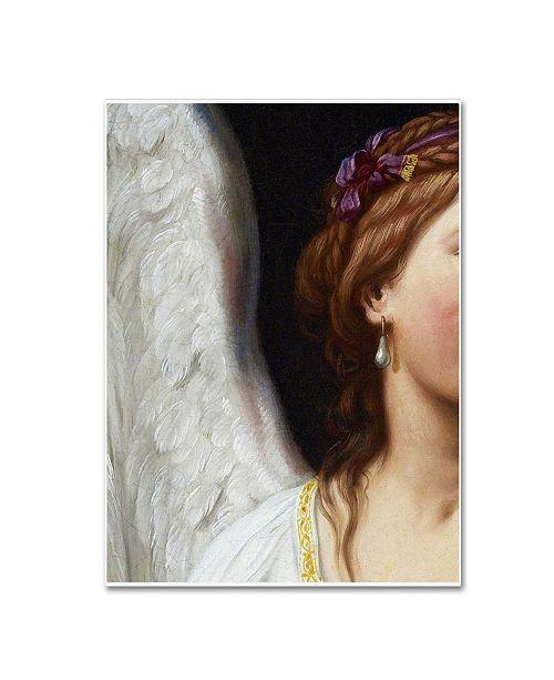 "Trademark Global Vintage Lavoie 'Ad 24' Canvas Art - 24"" x 18"" x 2"""