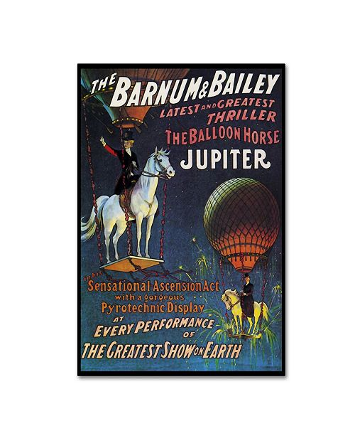 "Trademark Global Vintage Lavoie 'Circus 14' Canvas Art - 24"" x 16"" x 2"""