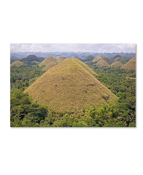 "Trademark Global Robert Harding Picture Library 'Hills 1' Canvas Art - 24"" x 16"" x 2"""