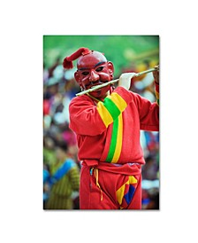 """Robert Harding Picture Library 'Red Mask' Canvas Art - 47"""" x 30"""" x 2"""""""