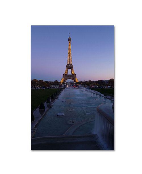 "Trademark Global Robert Harding Picture Library 'Eiffel Tower 7' Canvas Art - 19"" x 12"" x 2"""