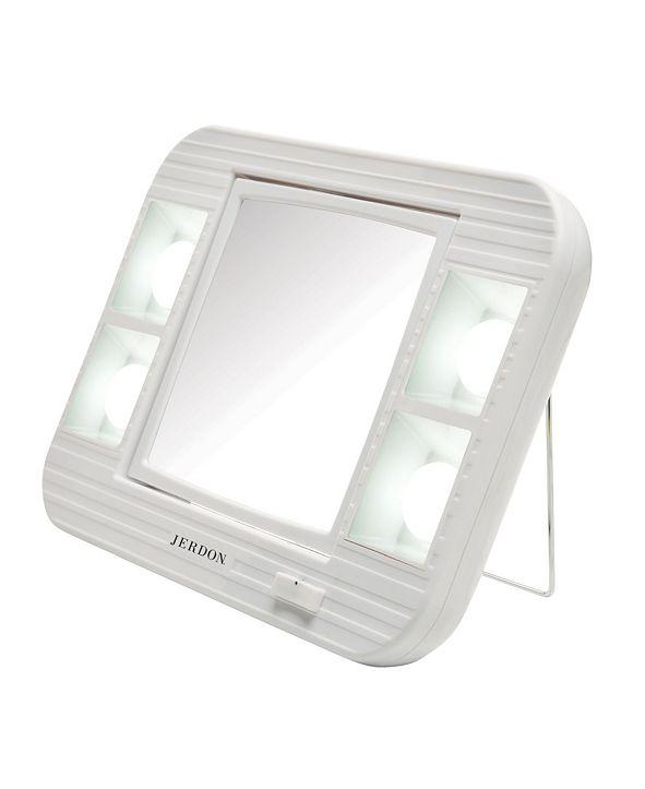 Jerdon The J1015 LED Lighted Makeup Mirror