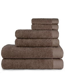 Carolina Texture 6 Piece Bath Towel Set