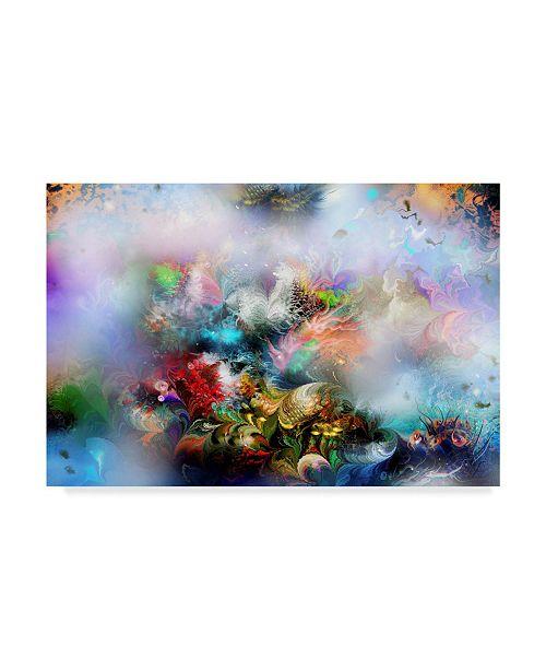 "Trademark Global RUNA 'Coral Reef 3' Canvas Art - 47"" x 30"" x 2"""