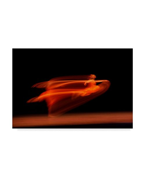 "Trademark Global Suren Manvelyan 'Flying Ghost' Canvas Art - 24"" x 2"" x 16"""