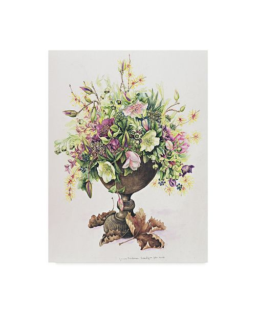 "Trademark Global Janneke Brinkman-Salentijn 'February Bouquet' Canvas Art - 24"" x 18"" x 2"""