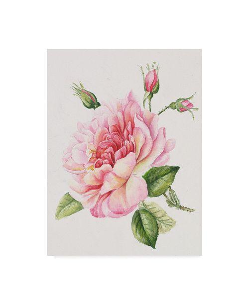 "Trademark Global Janneke Brinkman-Salentijn 'Single Rose' Canvas Art - 24"" x 18"" x 2"""